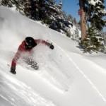 Lean to ski